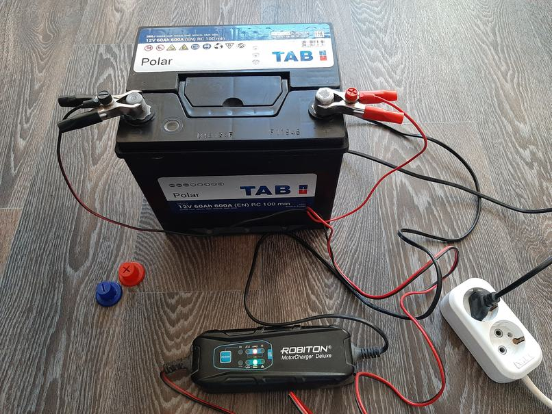 как заряжать аккумулятор