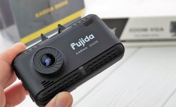 Видеорегистратор с радар-детектором Fujida Karma Duos WiFi