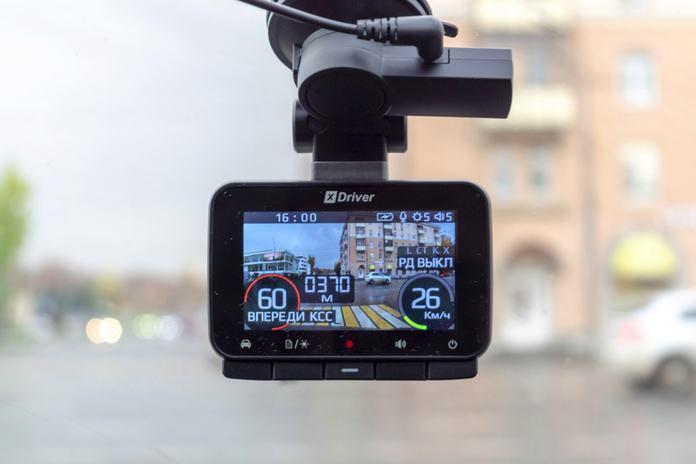 Видеорегистратор с радар-детектором Silverstone F1 HYBRID X-DRIVER